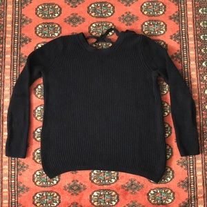 Banana Republic Lace Back Pullover Sweater
